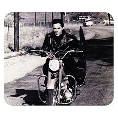 Elvis Presley Double Sided Flano Blanket (small)