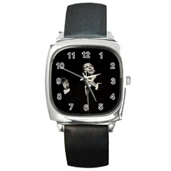 Frank Sinatra  Square Metal Watch