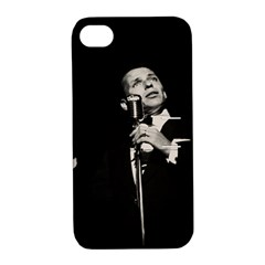 Frank Sinatra  Apple Iphone 4/4s Hardshell Case With Stand