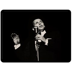 Frank Sinatra  Double Sided Fleece Blanket (large)