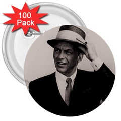 Frank Sinatra  3  Buttons (100 Pack)