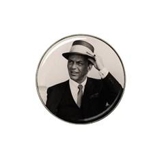 Frank Sinatra  Hat Clip Ball Marker (4 Pack)