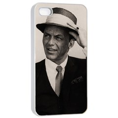 Frank Sinatra  Apple Iphone 4/4s Seamless Case (white)