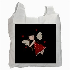 Cupid Girl Recycle Bag (one Side)