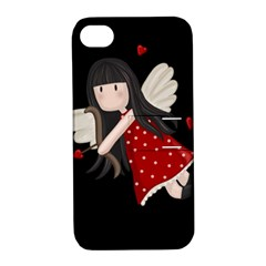 Cupid Girl Apple Iphone 4/4s Hardshell Case With Stand