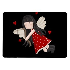 Cupid Girl Samsung Galaxy Tab 10 1  P7500 Flip Case