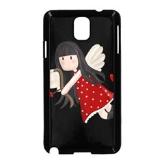 Cupid Girl Samsung Galaxy Note 3 Neo Hardshell Case (black)