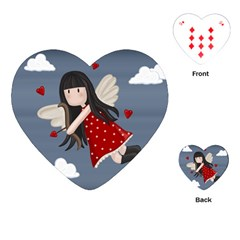 Cupid Girl Playing Cards (heart)