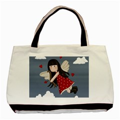 Cupid Girl Basic Tote Bag