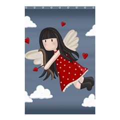 Cupid Girl Shower Curtain 48  X 72  (small)