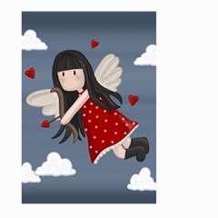 Cupid Girl Large Garden Flag (two Sides)