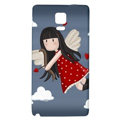 Cupid Girl Galaxy Note 4 Back Case