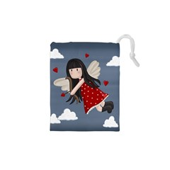 Cupid Girl Drawstring Pouches (xs)