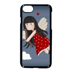 Cupid Girl Apple Iphone 7 Seamless Case (black)