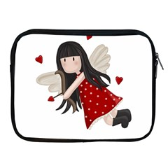 Cupid Girl Apple Ipad 2/3/4 Zipper Cases