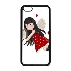 Cupid Girl Apple Iphone 5c Seamless Case (black)