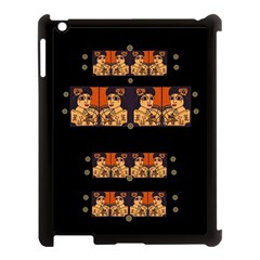Geisha With Friends In Lotus Garden Having A Calm Evening Apple Ipad 3/4 Case (black)