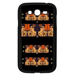 Geisha With Friends In Lotus Garden Having A Calm Evening Samsung Galaxy Grand Duos I9082 Case (black)