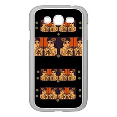 Geisha With Friends In Lotus Garden Having A Calm Evening Samsung Galaxy Grand Duos I9082 Case (white)