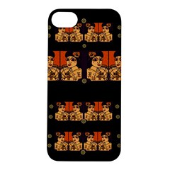 Geisha With Friends In Lotus Garden Having A Calm Evening Apple Iphone 5s/ Se Hardshell Case