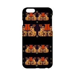 Geisha With Friends In Lotus Garden Having A Calm Evening Apple Iphone 6/6s Hardshell Case