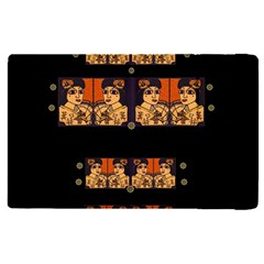 Geisha With Friends In Lotus Garden Having A Calm Evening Apple Ipad Pro 12 9   Flip Case