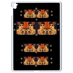Geisha With Friends In Lotus Garden Having A Calm Evening Apple Ipad Pro 9 7   White Seamless Case