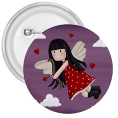 Cupid Girl 3  Buttons