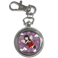 Cupid Girl Key Chain Watches