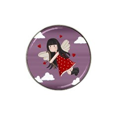 Cupid Girl Hat Clip Ball Marker (10 Pack)