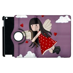 Cupid Girl Apple Ipad 3/4 Flip 360 Case