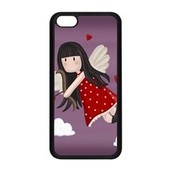 Cupid Girl Apple Iphone 5c Seamless Case (black)