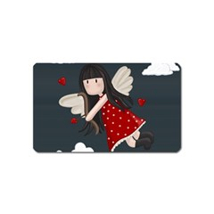 Cupid Girl Magnet (name Card)