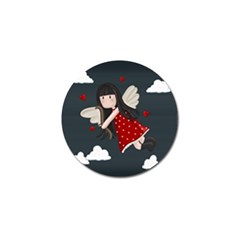 Cupid Girl Golf Ball Marker