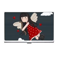Cupid Girl Business Card Holders