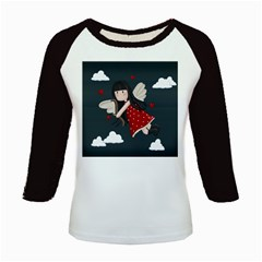 Cupid Girl Kids Baseball Jerseys