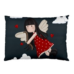 Cupid Girl Pillow Case (two Sides)