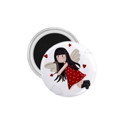 Cupid Girl 1 75  Magnets