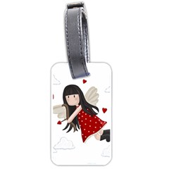 Cupid Girl Luggage Tags (two Sides)