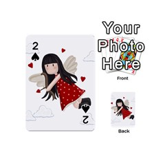 Cupid Girl Playing Cards 54 (mini)