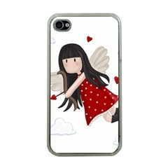 Cupid Girl Apple Iphone 4 Case (clear)