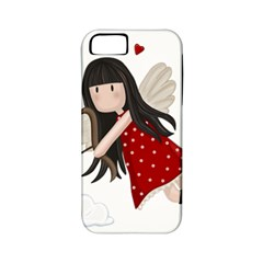 Cupid Girl Apple Iphone 5 Classic Hardshell Case (pc+silicone)