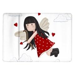Cupid Girl Samsung Galaxy Tab 10 1  P7500 Flip Case