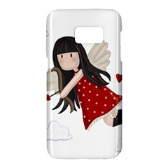 Cupid Girl Samsung Galaxy S7 Hardshell Case
