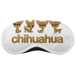 Chihuahua Sleeping Masks Front