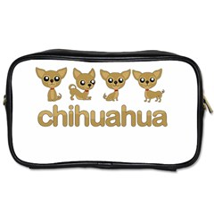Chihuahua Toiletries Bags