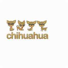 Chihuahua Small Garden Flag (two Sides)