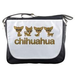 Chihuahua Messenger Bags