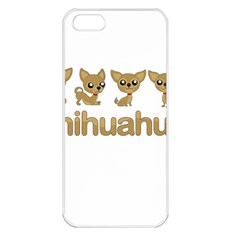 Chihuahua Apple Iphone 5 Seamless Case (white)