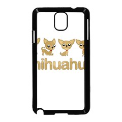 Chihuahua Samsung Galaxy Note 3 Neo Hardshell Case (black)